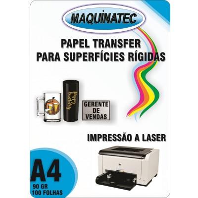Papel Transfer Laser 90gr - 100Folhas