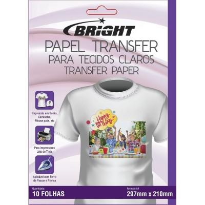 Papel Transfer Para Tecidos Claros